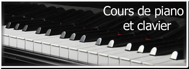Cours de piano et clavier